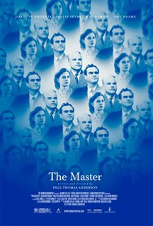 <i>The Master</i> (2012 film) 2012 film by Paul Thomas Anderson