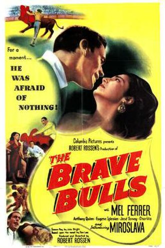 The Brave Bulls (film) - Theatrical release poster