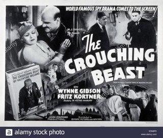 <i>The Crouching Beast</i> 1935 film by Victor Hanbury