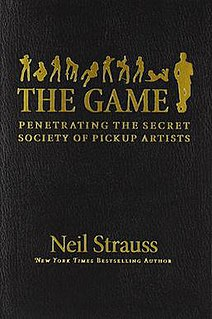 <i>The Game: Penetrating the Secret Society of Pickup Artists</i> book