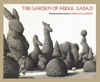 The Garden of Abdul Gasazi - Image: The Garden of Abdul Gasazi (Van Allsburg book) cover