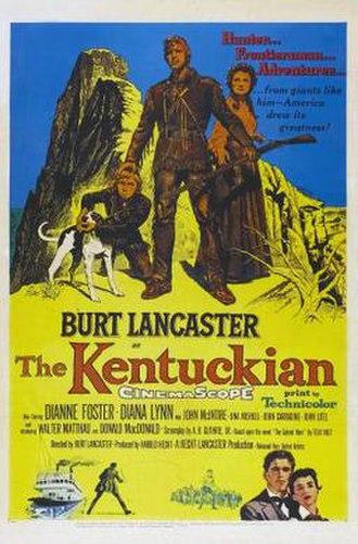 The Kentuckian - Image: The Kentuckian poster