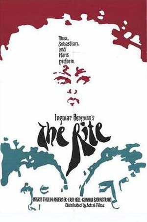 The Rite (1969 film) - Promotional poster
