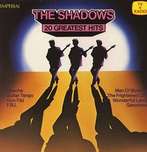 20 Golden Greats (The Shadows album) - Image: The Shadows 20 Greatest Hits (Netherlands) cover