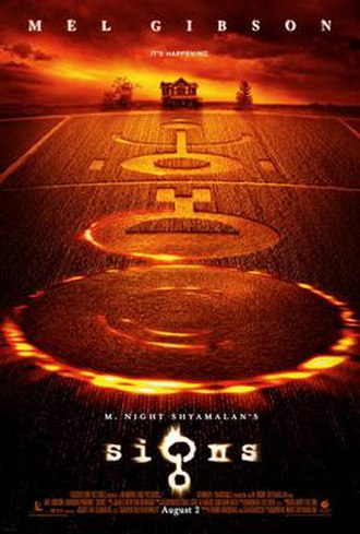 Signs (film) - Theatrical release poster