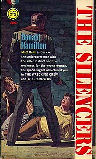 <i>The Silencers</i> spy novel by Donald Hamilton