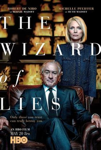 The Wizard of Lies - Television release poster