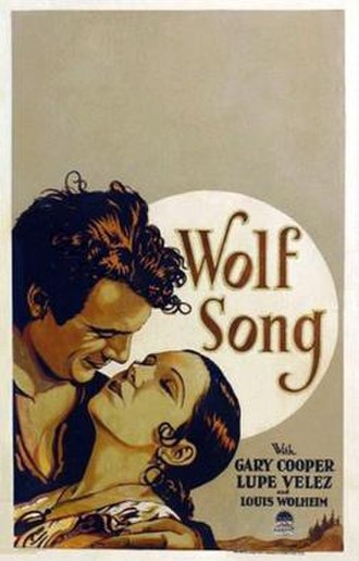 Wolf Song - Image: The Wolf Song 1929 Poster