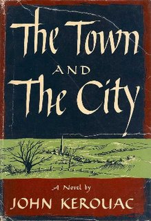 <i>The Town and the City</i> novel by Jack Kerouac