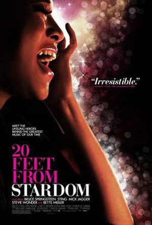 20 Feet from Stardom - Theatrical release poster