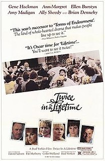 <i>Twice in a Lifetime</i> (film) 1985 film by Bud Yorkin