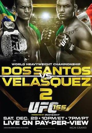 UFC 155 - Image: UFC 155 JDS Cain