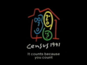 United Kingdom Census 1991 - The logo of Census 1991.