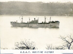 SS Maritime Victory - USAT Maritime Victory