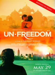 <i>Unfreedom</i> 2014 Indian film