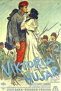<i>Victoria and Her Hussar</i> (1931 film) 1931 film