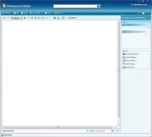 Windows Live Writer - Image: WL Writer