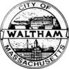 Official seal of Waltham, Massachusetts