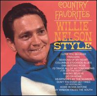 Country Favorites-Willie Nelson Style - Image: Wilie Nelson Country Favorites Willie Nelson Style