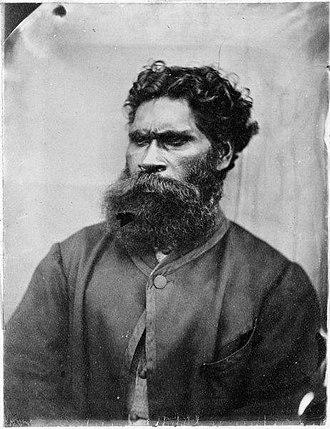William Barak - William Barak in 1866