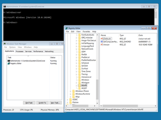 Windows Preinstallation Environment - Image: Windows PE screenshot