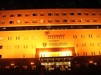 State Highway 87 (Karnataka) - Wockhardt Hospital on Bannerghatta Road in Bangalore