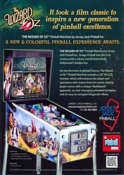 The Wizard of Oz (pinball) - Wikipedia