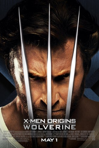 X-Men Origins: Wolverine - Theatrical release poster