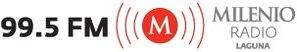 XHGZ-FM (Durango) - Image: XHGZ Milenio Radio 99.5 logo