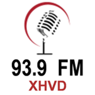 XHVD-FM - Image: XHVD 93.9FM logo