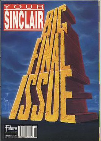 Your Sinclair - The final issue of Your Sinclair, September 1993