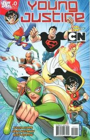 Young Justice - Image: Young Justice 0