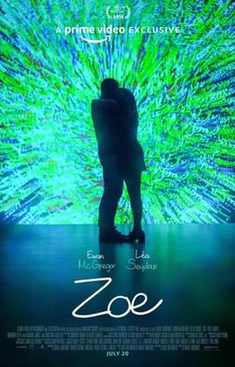 Zoe (film) - Official release poster
