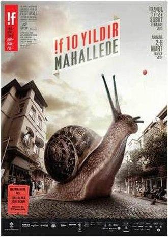 10th !f Istanbul AFM International Independent Film Festival - Festival Poster
