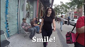 10 Hours of Walking in NYC as a Woman - Screenshot from the video
