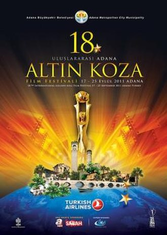 18th International Adana Golden Boll Film Festival - Image: 18th International Adana Golden Boll Film Festival