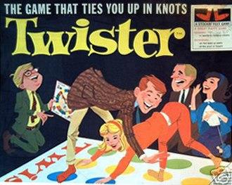 Twister (game) - 1966 original cover art