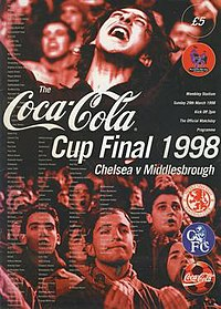 1998 Football League Cup Final programme.jpg