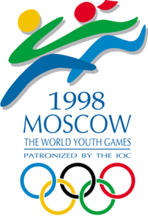 1998 World Youth Games - Official logo