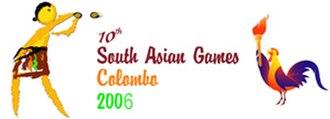 2006 South Asian Games - Logo of 2006 SAF Games