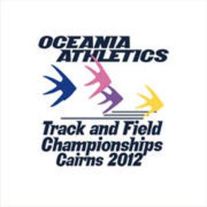 2012 Oceania Athletics Championships - Image: 2012 Oceania Championships Logo