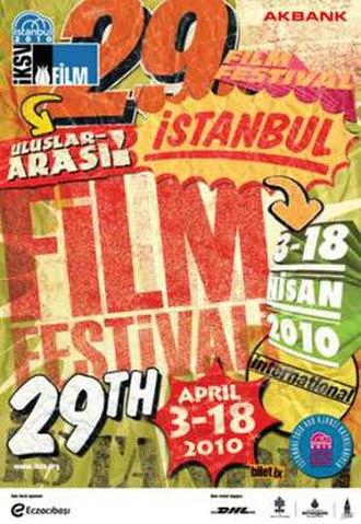 29th International Istanbul Film Festival - Festival Poster