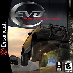 4x4 Evolution box art, Dreamcast version