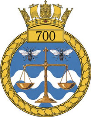 700 Naval Air Squadron - 700 NAS badge