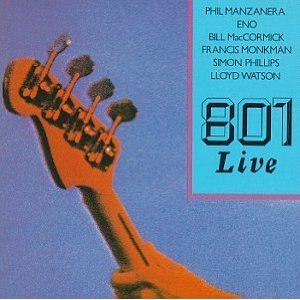 801 Live - Image: 801 Live cover