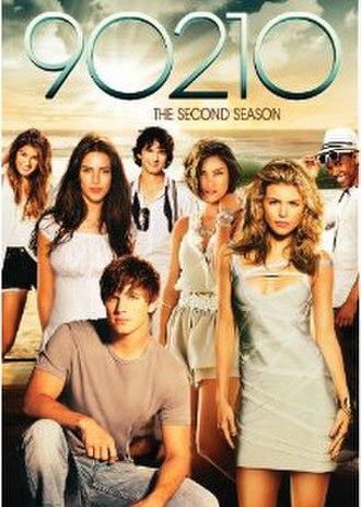 90210 (season 2) - DVD cover