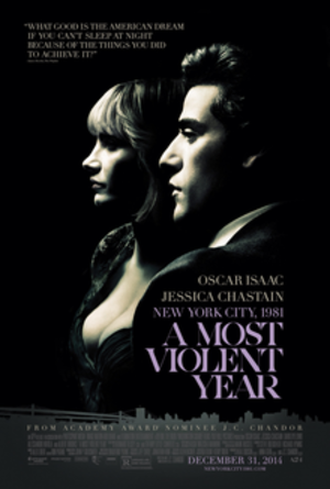 A Most Violent Year - Theatrical release poster
