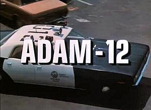 Adam-12 - Adam-12 title screen, season 4