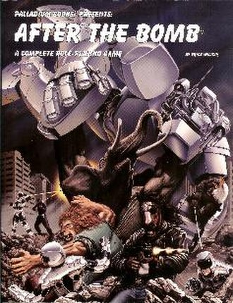 After the Bomb (game) - Front cover of After the Bomb second edition core rulebook