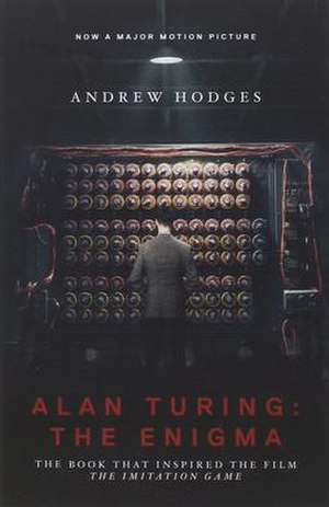 Alan Turing: The Enigma - Image: Alan Turing The Enigma